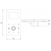 Комнатный терморегулятор JOY от Thermokon
